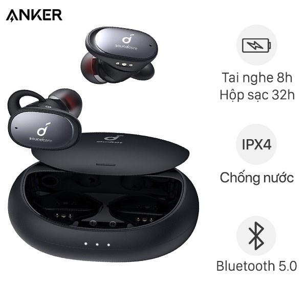 Tai Nghe Bluetooth True Wireless Anker SoundCore Liberty 2 Pro A3909