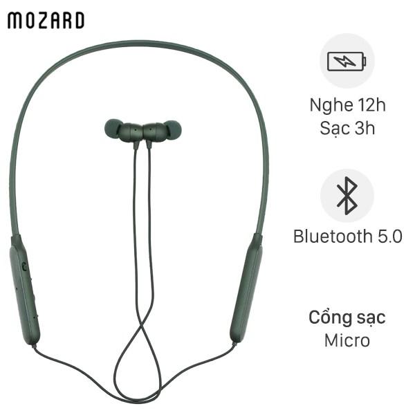 Tai nghe Bluetooth Mozard Z702 Xanh