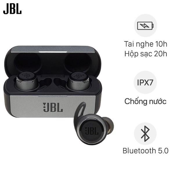 Tai nghe Bluetooth True Wireless JBL REFFLOW Đen