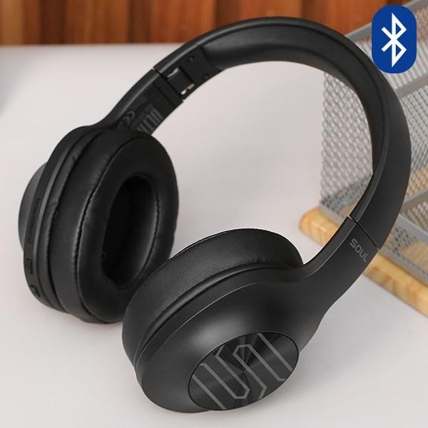 Tai Nghe Bluetooth chụp tai SOUL Ultra Wireless Dynamic SU34BK Đen