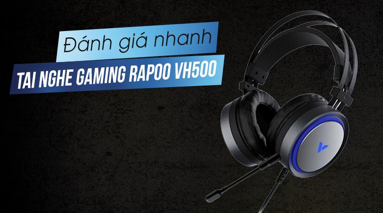 Tai nghe Có Dây Gaming Rapoo VH500 7.1