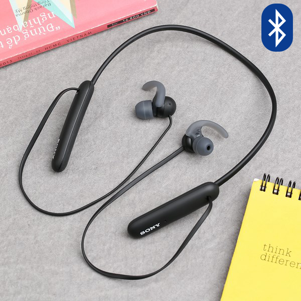Tai nghe Bluetooth Sony Extra Bass WI-SP510/BZ E Đen