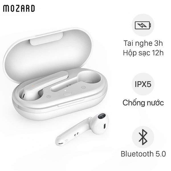 Tai nghe Bluetooth True Wireless Mozard DT19