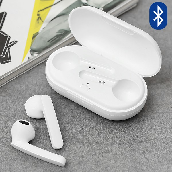 Tai nghe Bluetooth True Wireless Mozard DT19 Trắng