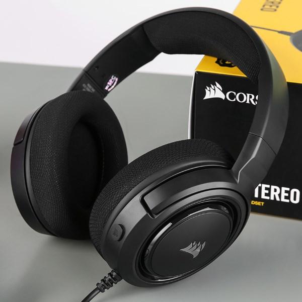 Tai nghe chụp tai Gaming Corsair HS35 Stereo Carbon Đen