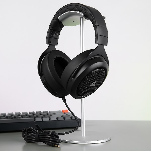 Tai nghe chụp tai Gaming Corsair HS50 PRO Stereo Carbon Đen