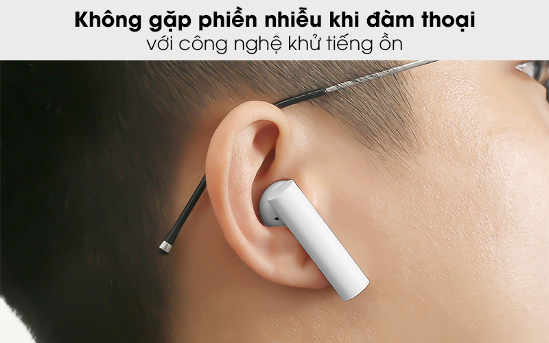 Tai nghe Bluetooth True Wireless Earphones 2 Xiaomi ZBW4493GL - Khử tiếng ồn