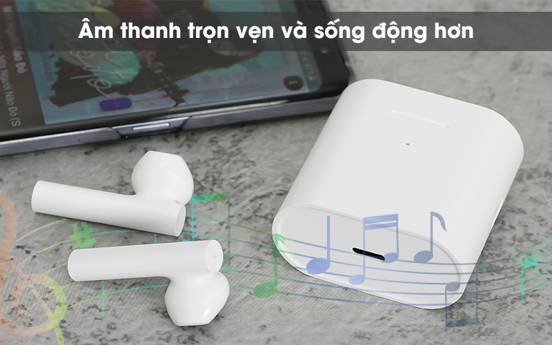 Tai nghe Bluetooth True Wireless Earphones 2 Xiaomi ZBW4493GL - Âm thanh