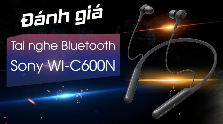 Tai nghe Bluetooth Thể Thao Sony WI-C600N
