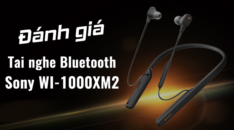 Tai nghe Bluetooth Thể Thao Sony WI-1000XM2
