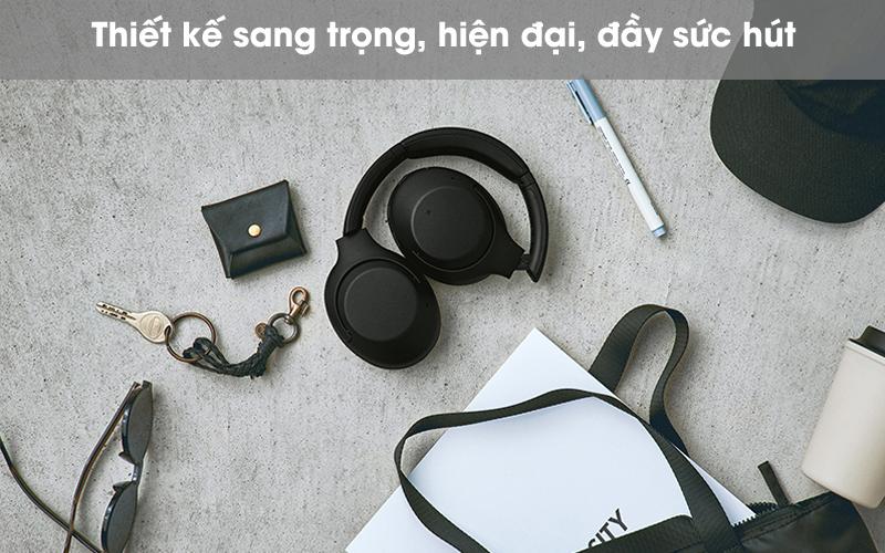 Thiết kế đẹp - Tai nghe chụp tai Bluetooth Sony WH-XB900N