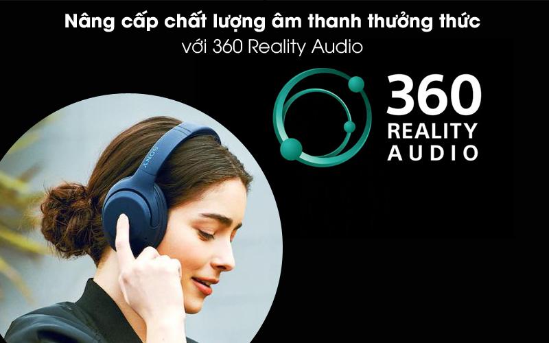 360 Reality Audio - Tai nghe chụp tai Bluetooth Sony WH-XB900N