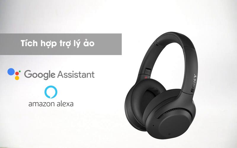 Trợ lý ảo - Tai nghe chụp tai Bluetooth Sony WH-XB900N