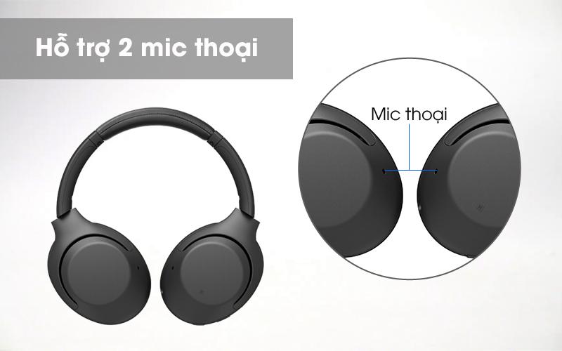 Mic thoại - Tai nghe chụp tai Bluetooth Sony WH-XB900N