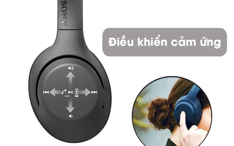 Điều khiển cảm ứng - Tai nghe chụp tai Bluetooth Sony WH-XB900N