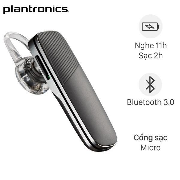 Tai nghe Bluetooth Plantronics Explorer 80 Sable Xám