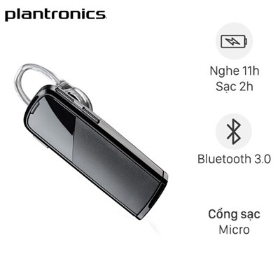 Tai nghe Bluetooth 1 Bên Plantronics Explorer 80 Sable