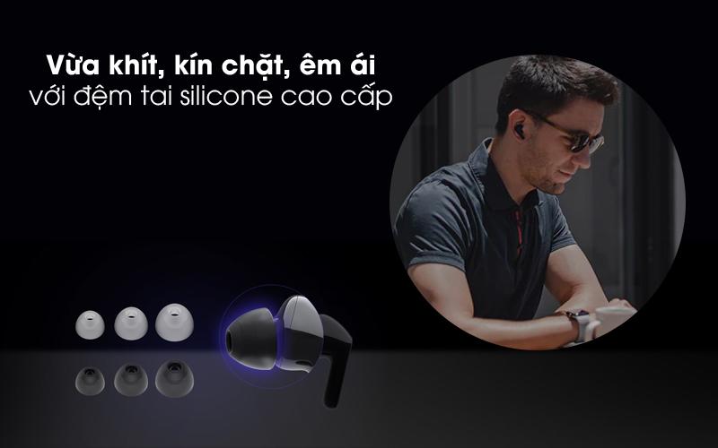 Cách âm tốt - Tai nghe Bluetooth True Wireless LG HBS-FN4