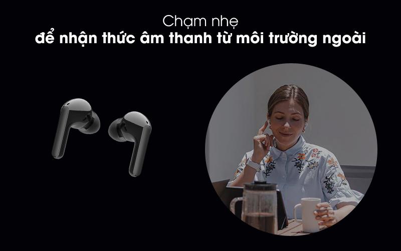 Kết nối với môi trường xung quanh - Tai nghe Bluetooth True Wireless LG HBS-FN4