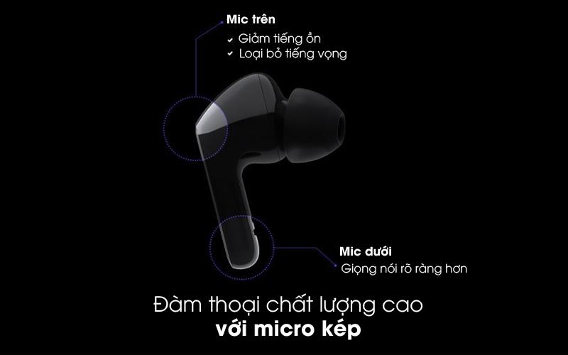 Đàm thoại chất lượng cao - Tai nghe Bluetooth True Wireless LG HBS-FN4