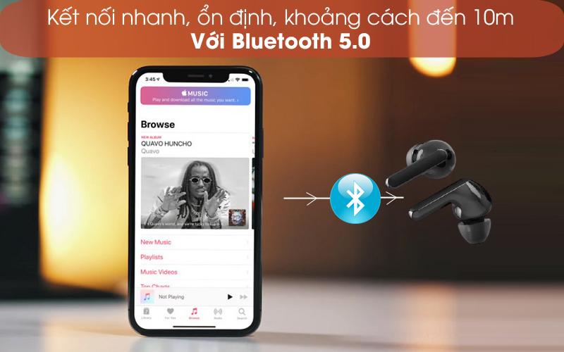 Bluetooth 5.0 - Tai nghe Bluetooth True Wireless LG HBS-FN4