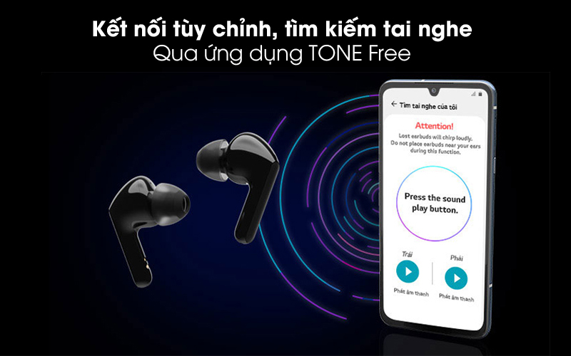 Tone Free - Tai nghe Bluetooth True Wireless LG HBS-FN4