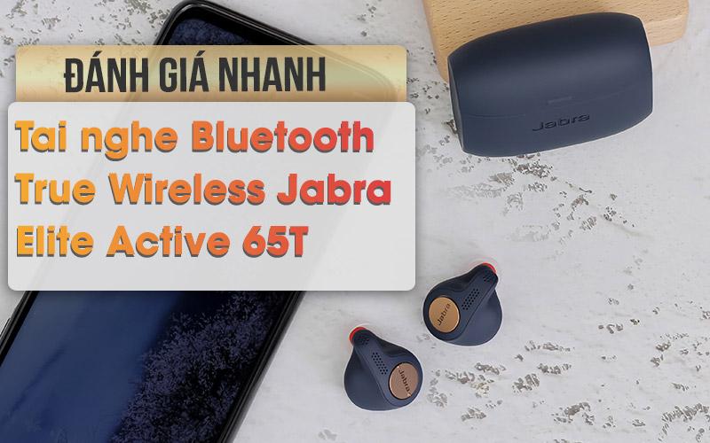 Tai nghe Bluetooth True Wireless Jabra Elite Active 65T