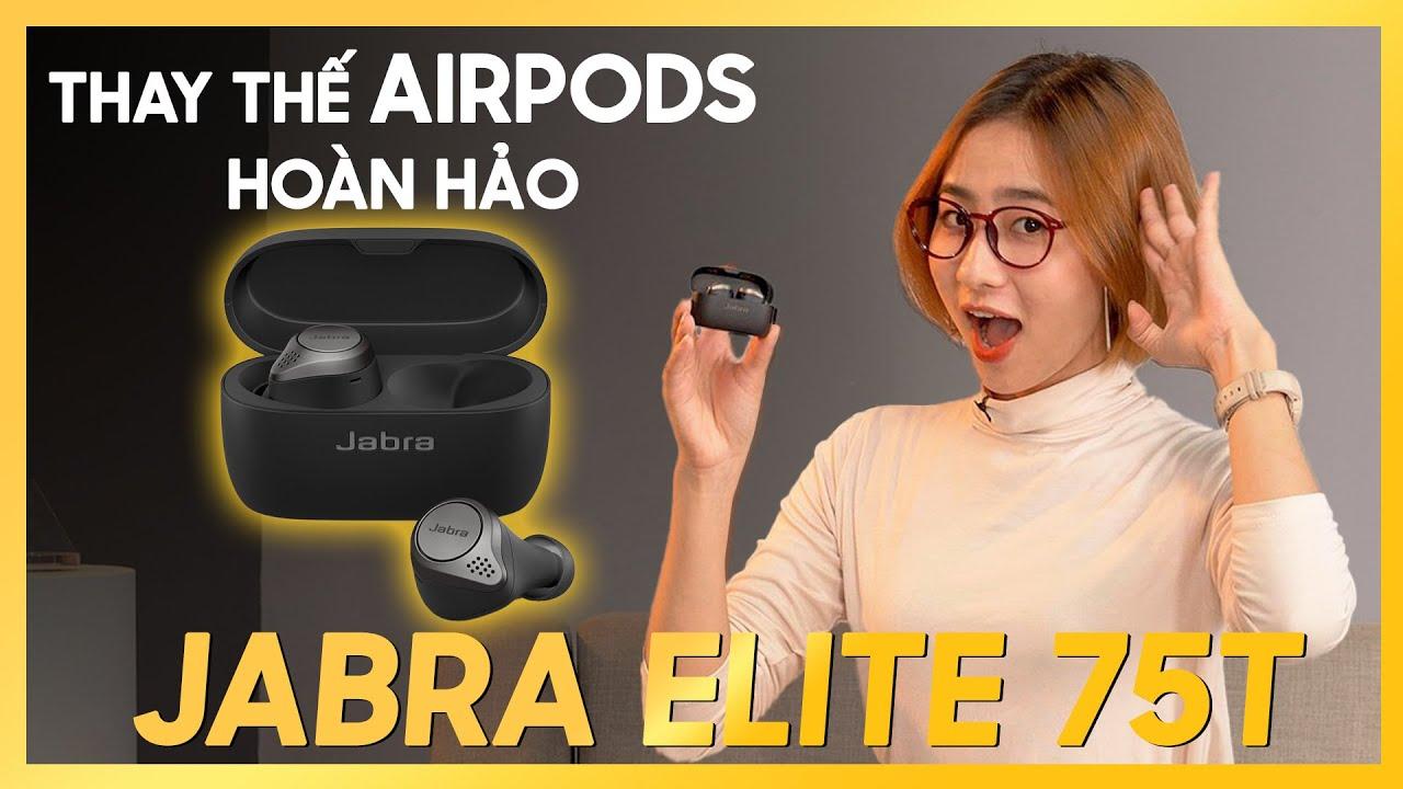 Tai nghe Bluetooth True Wireless Jabra Elite 75T