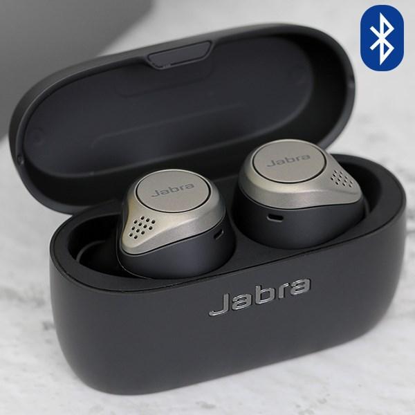 Tai nghe Bluetooth True Wireless Jabra Elite 75T Đen Titanium