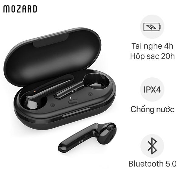 Tai nghe Bluetooth True Wireless Mozard DT920 Đen