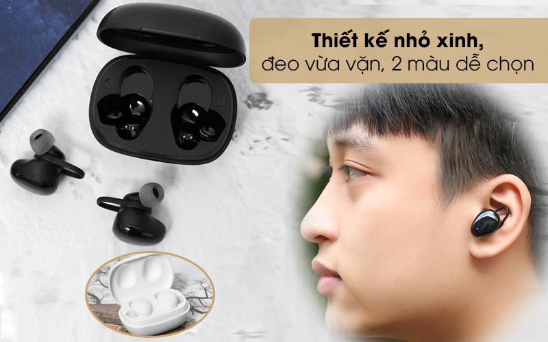 Tai nghe Bluetooth True Wireless Mozard TS11 mini - Vẻ ngoài sang trọng, kích thước nhỏ gọn tiện dụng