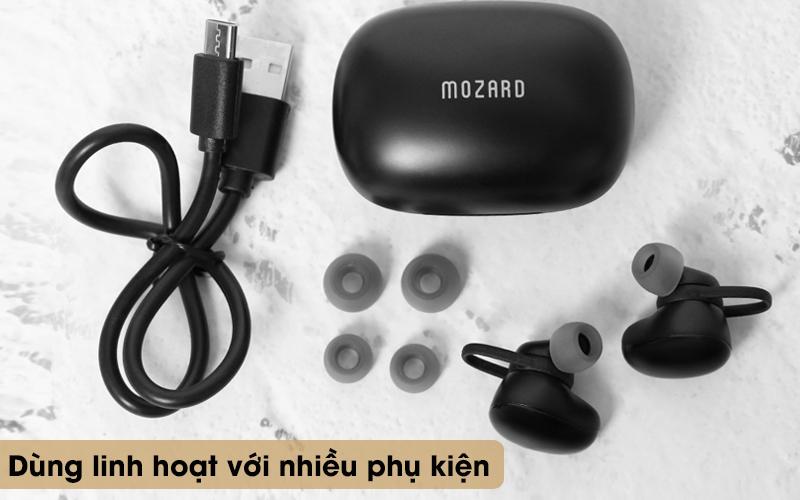 Tai nghe Bluetooth True Wireless Mozard TS11 mini - Phụ kiện đi kèm