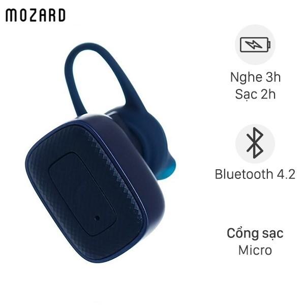 Tai nghe Bluetooth Mozard Q6C Xanh Navy