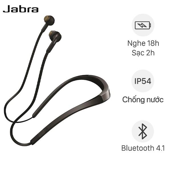Tai nghe Bluetooth Jabra Elite 25e Đen