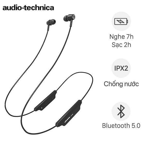 Tai nghe Bluetooth Thể Thao Audio Technica ATH-CLR100BT