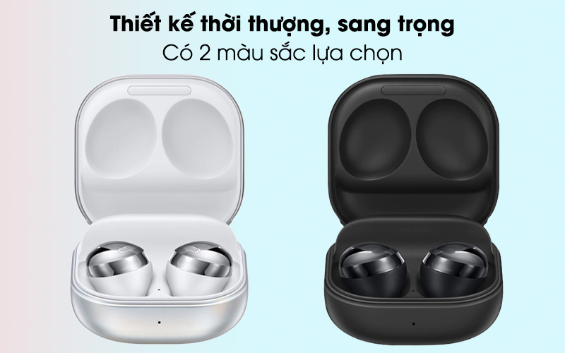 Tai nghe Bluetooth True Wireless Samsung Buds Pro - Thiết kế thời thượng