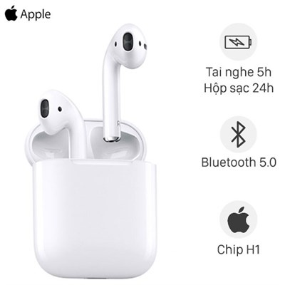Tai nghe Bluetooth AirPods 2 Apple MV7N2