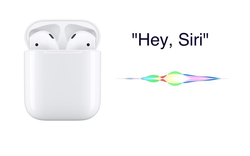 Tai nghe Bluetooth AirPods 2 Apple MV7N2 Trắng kích hoạt Siri bằng giọng nói