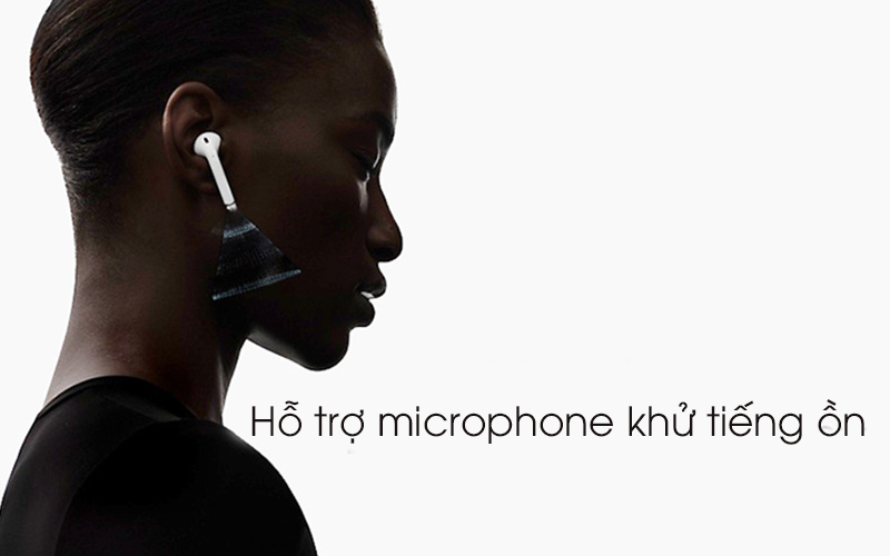 Tai nghe Bluetooth AirPods 2 Apple MV7N2 Trắng khử tiếng ồn