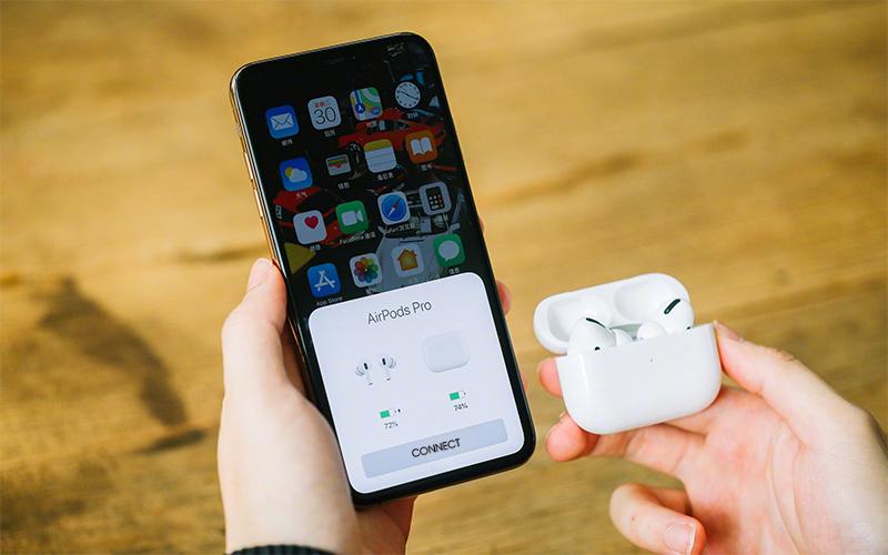 Hướng dẫn kết nối Tai nghe Bluetooth Airpods Pro Apple Trắng
