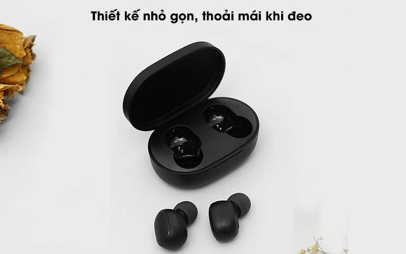 Tai nghe Bluetooth True Wireless Xiaomi Earbuds Basic 2 BHR4272GL-Thiết kế