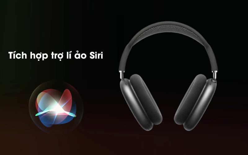 Trợ lí ảo Siri - Tai nghe chụp tai Bluetooth AirPods Max Apple MGYH3/ MGYJ3/ MGYL3