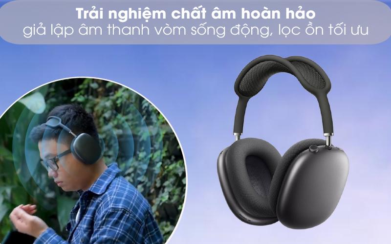Âm thanh sống động, chân thực - Tai nghe chụp tai Bluetooth AirPods Max Apple MGYH3/ MGYJ3/ MGYL3