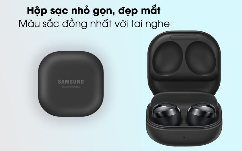 Tai nghe Bluetooth True Wireless Galaxy Buds Pro Bạc - Hộp sạc