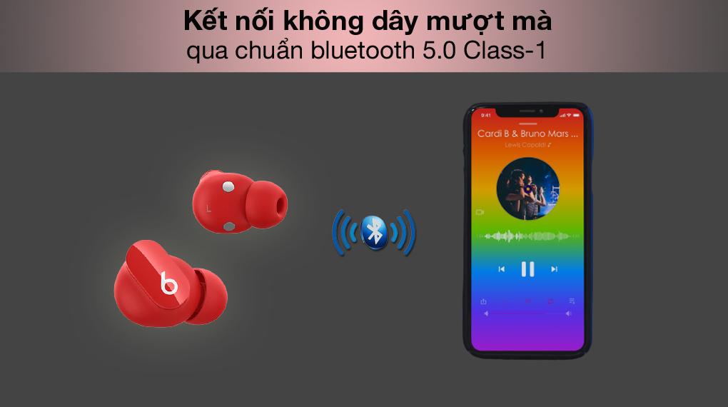 Kết nối Bluetooth - Beats Studio Buds MJ503 Đỏ