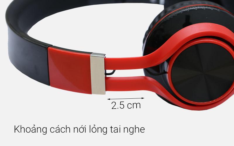 Tai nghe chụp tai Kanen IP-2050 với khoảng cách nới lỏng tai nghe