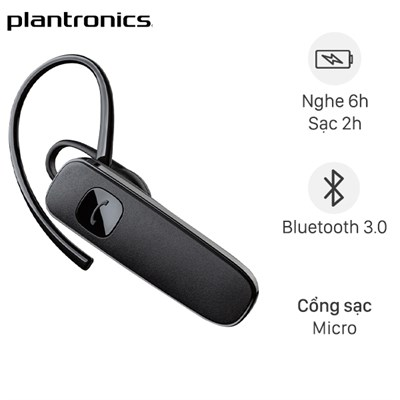 Tai nghe bluetooth 1 Bên Plantronics ML15