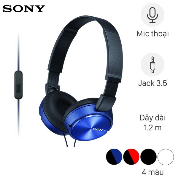 Tai nghe chụp tai Sony MDR - ZX310AP