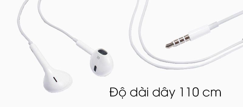 Tai nghe nhét trong Apple MD827FE-A - Chiều dài dây thích hợp