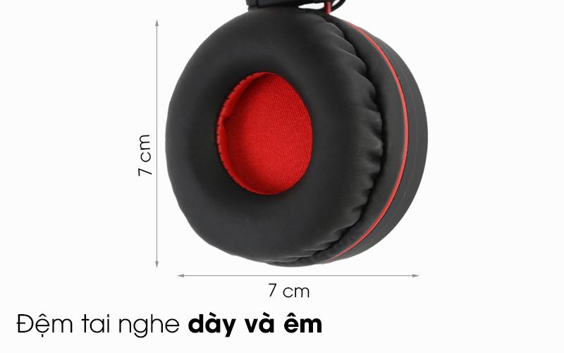 Tai nghe chụp tai Kanen IP-892 - Đệm tai nghe dày